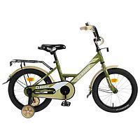 """Велосипед 16"""" Graffiti Classic, цвет хаки"""