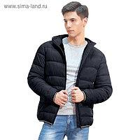 Куртка мужская, размер 54, цвет чёрный