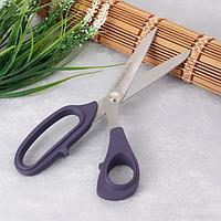 Ножницы портновские «PROFESSIONAL Xact», 21 см, цвет фиолетовый
