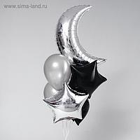 Букет из шаров «С рождением девочки», набор 10 шт.