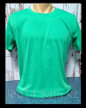"""Футболка для сублимации Прима Лето """"Unisex"""" цвет: Зеленая мята, р-р: 58(4XL)"""