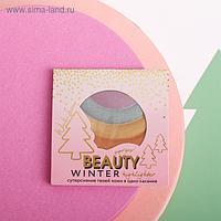 Радужный хайлайтер для лица Beauty Winter
