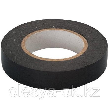 Изолента ПВХ, 15мм х 10м, черная. СИБРТЕХ Россия, фото 2
