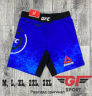 Шорты UFC синие