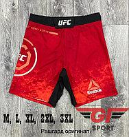 Шорты UFC красный