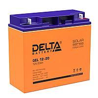 Аккумулятор Delta GEL 12-20