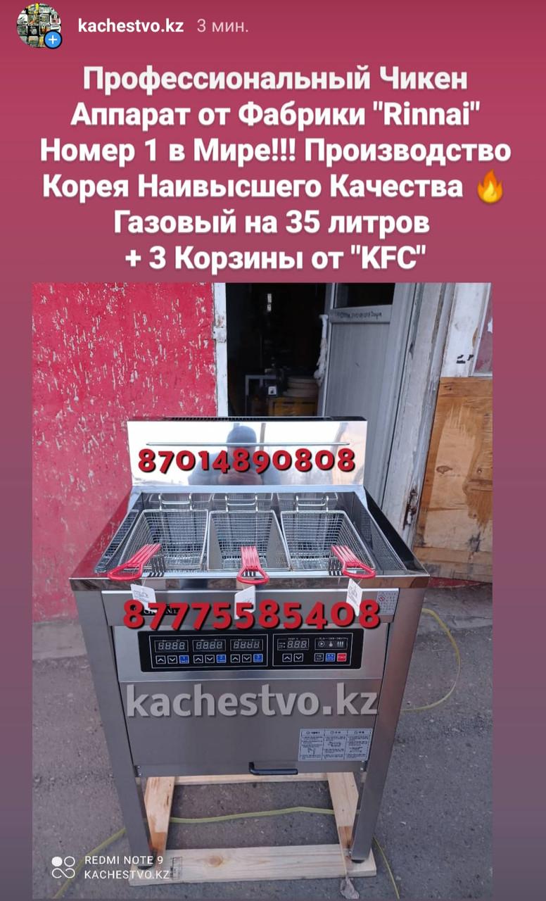"""Чикен Аппараты """"Rinnai"""" Газовые Риннай"""