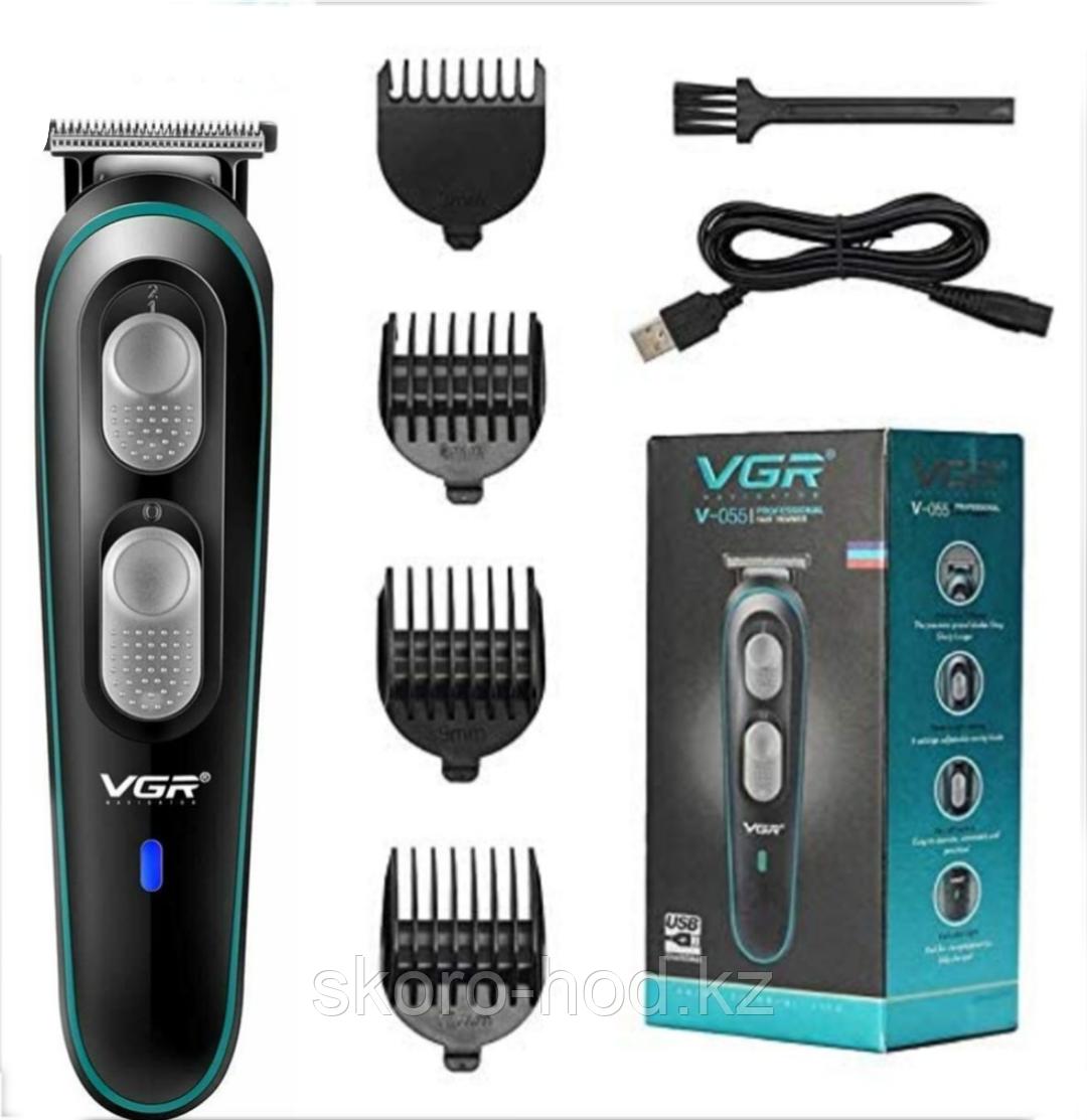 Триммер VGR для стрижки бороды