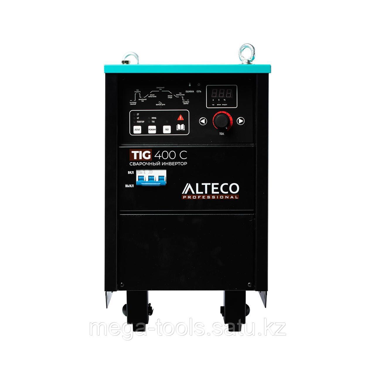 Сварочный аппарат ALTECO TIG 400 C - фото 6