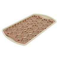 Поднос с вкладышем для сушки посуды Альтернатива, 40x24 см, цвет МИКС