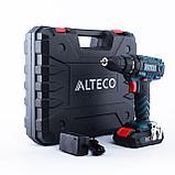 Аккумуляторная дрель-шуруповерт ALTECO CD 0413 (CD 2110.1) / 21V, фото 2