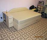Кровать с ящиками и баром, фото 3