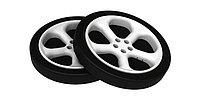 Пластиковые колеса для кровати-машины (2 шт)