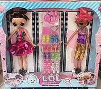 Две куклы лол, lol большие, реплики