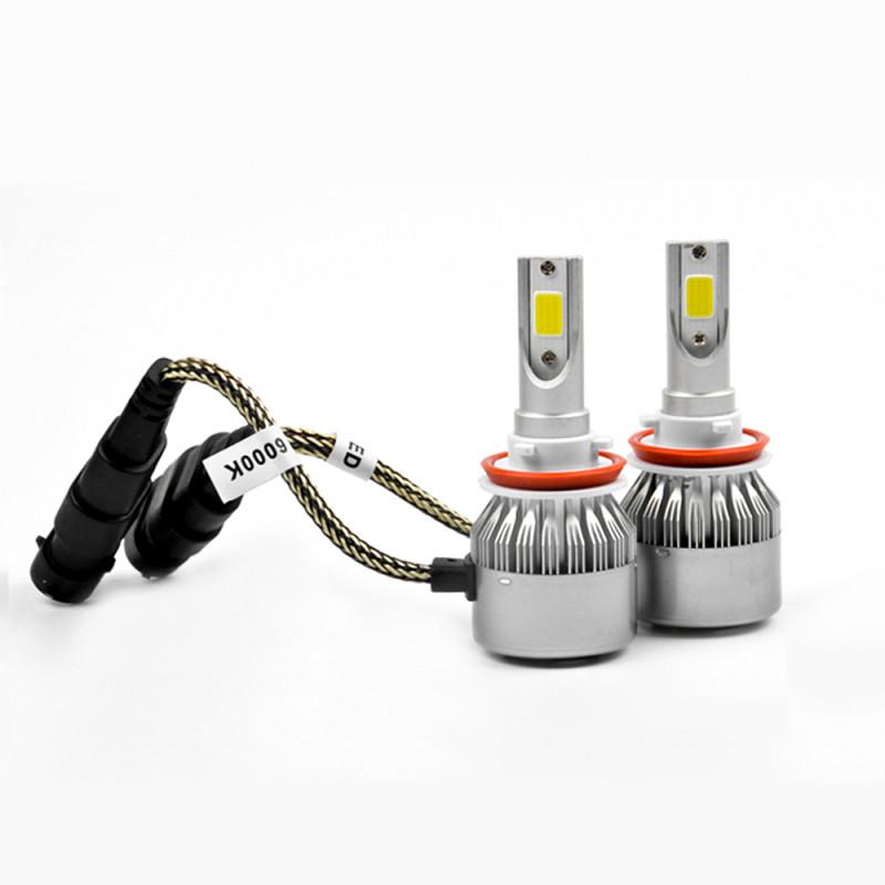Светодиодные лампы C6 LED цоколь H11 6000К 3800Lm