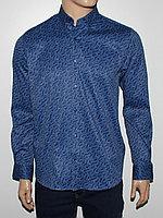 Рубашка приталенная Cardozo синяя