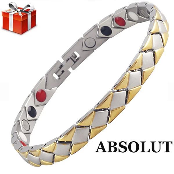 Титановый магнитный браслет Абсолют