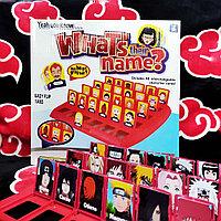 Настольная игра What's their Name? - (Кто это? Угадай персонажа) - (с карточками Наруто)