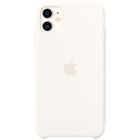 Силиконовый чехол для IPhone 11 Silicone Case - White