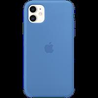 Силиконовый чехол для IPhone 11 Silicone Case - Surf Blue «синяя волна»