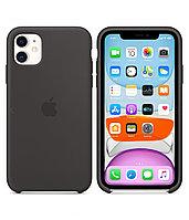 Силиконовый чехол для IPhone 11 Silicone Case - Black