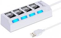 USB 2.0 хаб с выключателями SBHA-7204