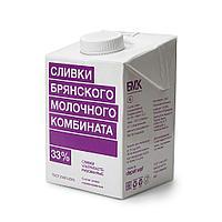 Сливки БМК 33% 0,5 л
