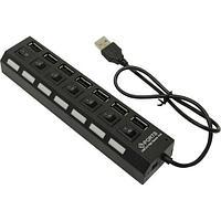 USB 2.0 хаб с выключателями SBHA-7207 СуперЭконом