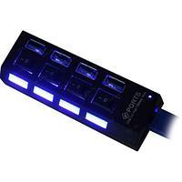 USB 3.0 хаб с выключателями SBHA-7304 СуперЭконом