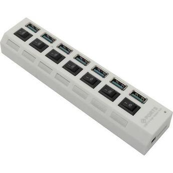 USB 3.0 хаб с выключателями SBHA-7307 СуперЭконом