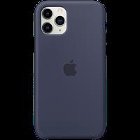 Силиконовый чехол для IPhone 11 Pro Max Silicone Case - Midnight Blue