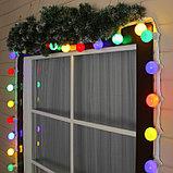 Гирлянда белт лайт настенная, светодиодный led belt light на стену, ретро гирлянда, гирлянда для кафе, фото 6