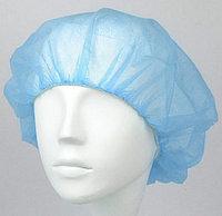 Шапочки одноразовые голубые медицинские