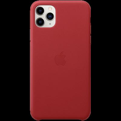 Кожаный чехол для IPhone 11 Pro Max Leather Case - (PRODUCT)RED - фото 2