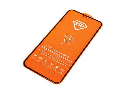 Защитное стекло 11D для iPhone 11 Pro Max 6.5 дюйма, закругленное