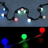 Светодиодные лампы 1-3 ватт,  лампочка для ретро гирлянда Belt light, лампочки разноцветные, лампы для гирлянд, фото 6