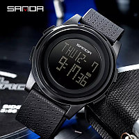 Спортивные водонепроницаемые часы брэнда Sanda