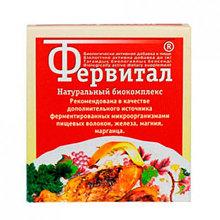 Фервитал 60г источник ферментированных пищевых волокон, железа, магния, марганца