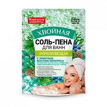 Соль-пена для ванн Укрепляющая Хвойная 200гр