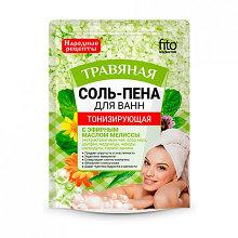 Соль-пена для ванн Тонизирующая Травяная 200гр
