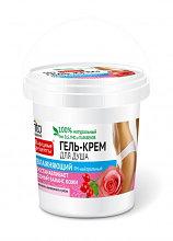 Гель-крем для душа увлажняющий с маслами шиповника и розы, банка 155 мл