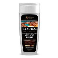 Бальзам для волос на глине Черной (рост и восстановление волос, укрепление корней), 270 мл