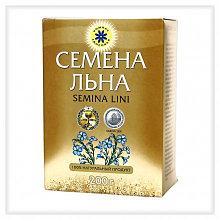 Семена льна 200г коробка (от ожирения и ЖКТ)