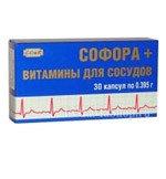 Софора + Витамины для сосудов 30 капс х 0, 2 г