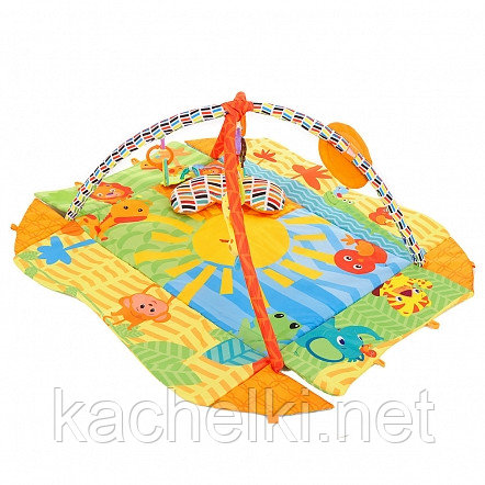 PITUSO Развивающий коврик СОЛНЕЧНЫЙ КРУГ, 75*55*22 см