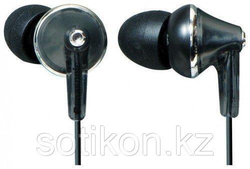 Наушники-вкладыши проводные Panasonic RP-HJE190E-K черный