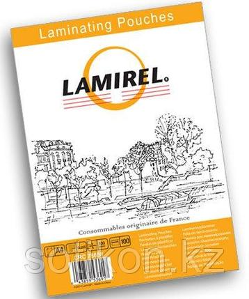 Пленка для ламинирования Fellowes Lamirel А4, 100мкм, 100 шт., фото 2