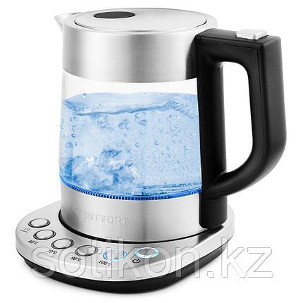 Электрический чайник Kitfort KT-648 металл, фото 2