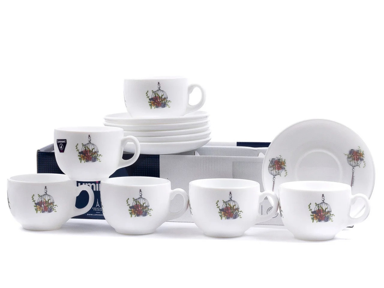 Чайный сервиз Luminarc Flore на 6 персон