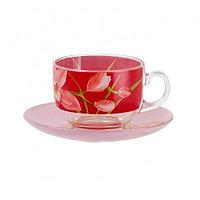 Чайный сервиз Luminarc Red Orchis, фото 1